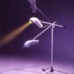 Специальный штатив для фиксации аппарата «Биоптрон»